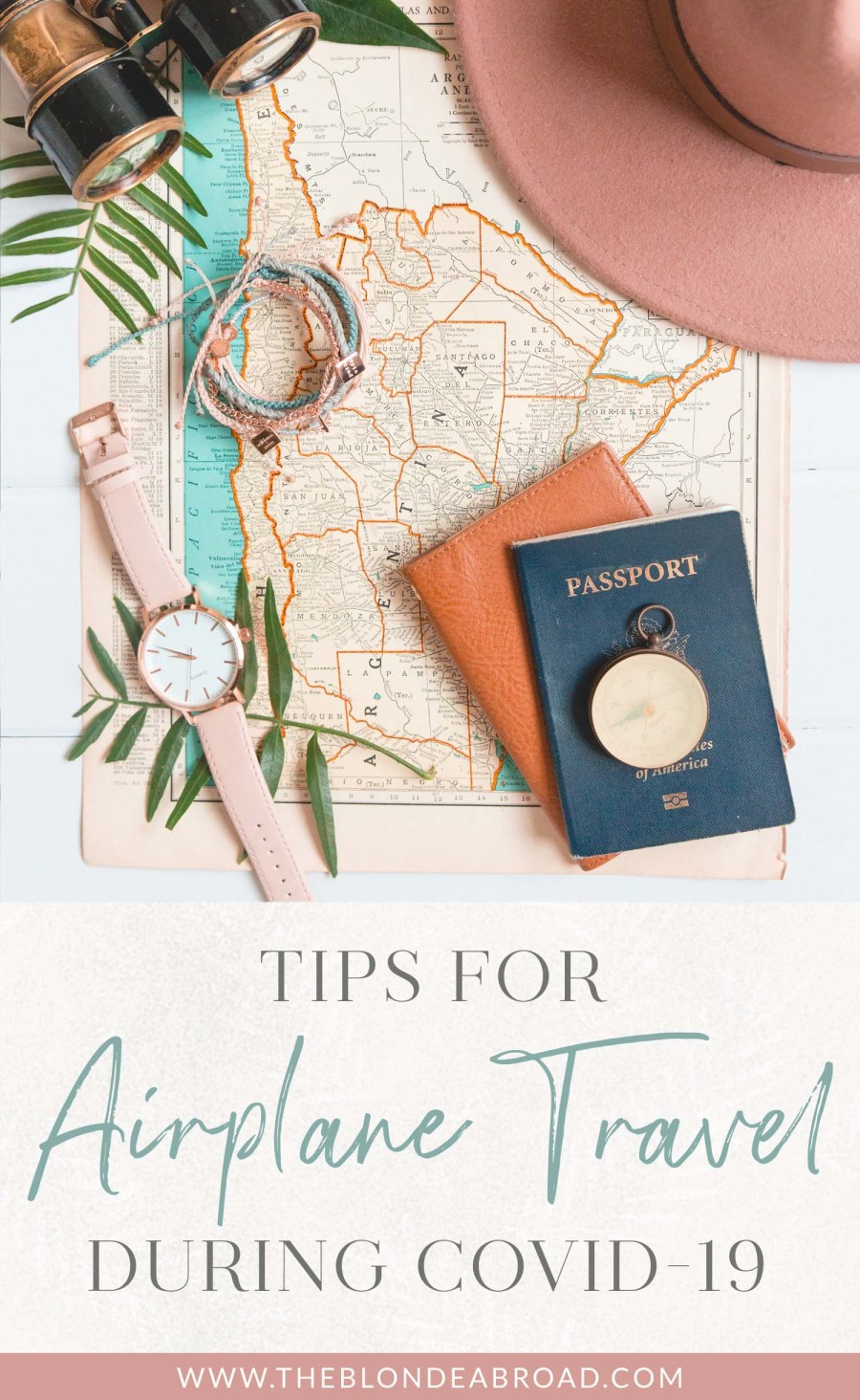 Tips for Airplane Travel During COVID
