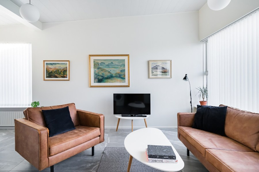 Airy Seaside Airbnb Seltjarnares Iceland