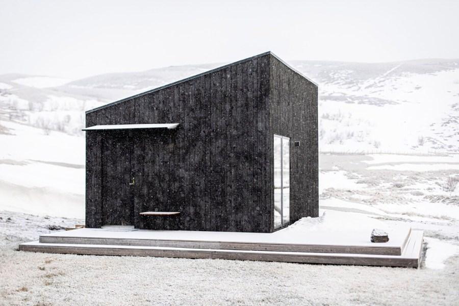 Aska Modern Cabin Iceland Airbnb