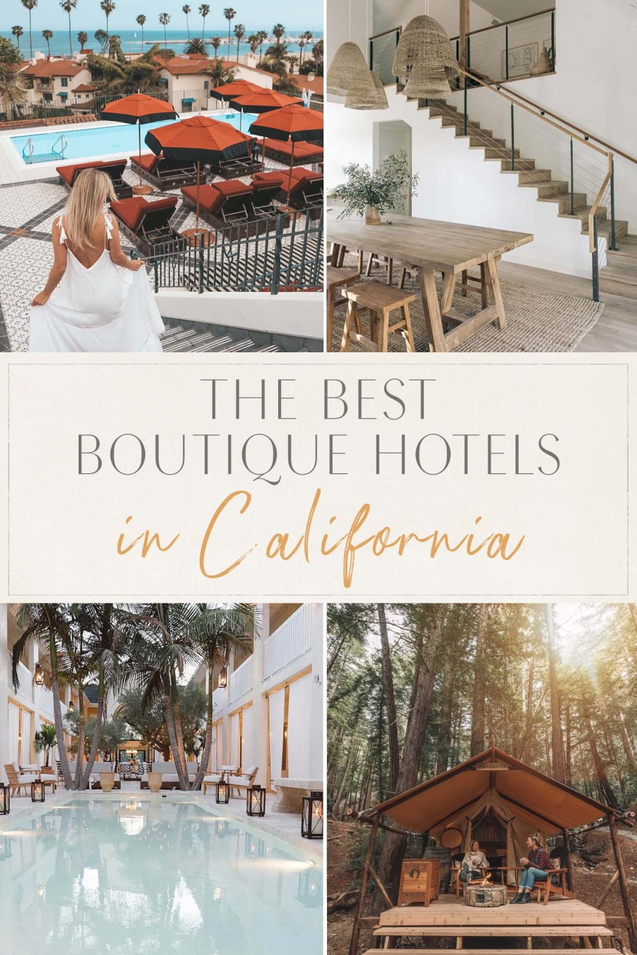 Best Boutique Hotels in California