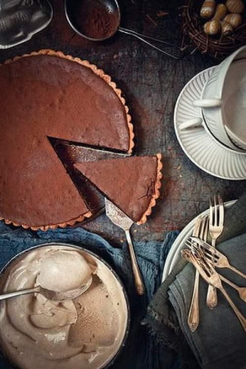 Chocolate Pie via daily life