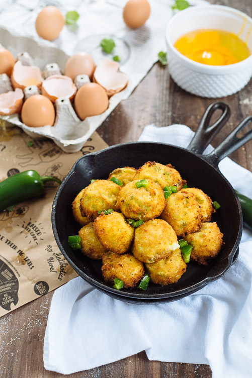Jalapeño and Cheese Fritters