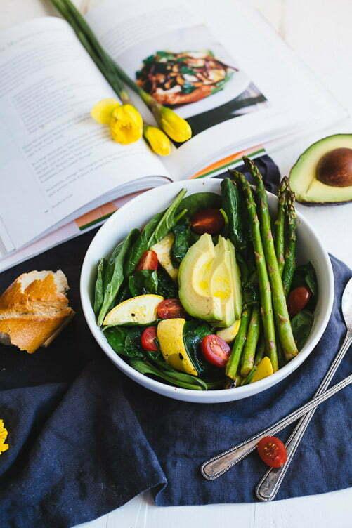 Warmed Mixed Vegetable Salad