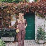 Floral Velvet Jumpsuit The Blondielocks Life Style