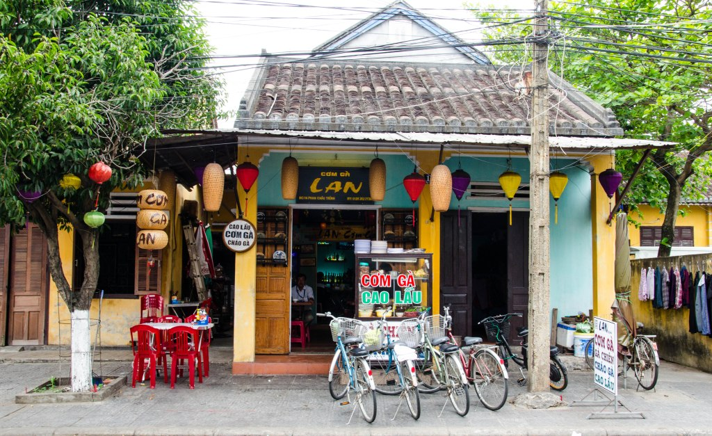Remember to learn the names of the local dishes as a lot of signs are in Vietnamese