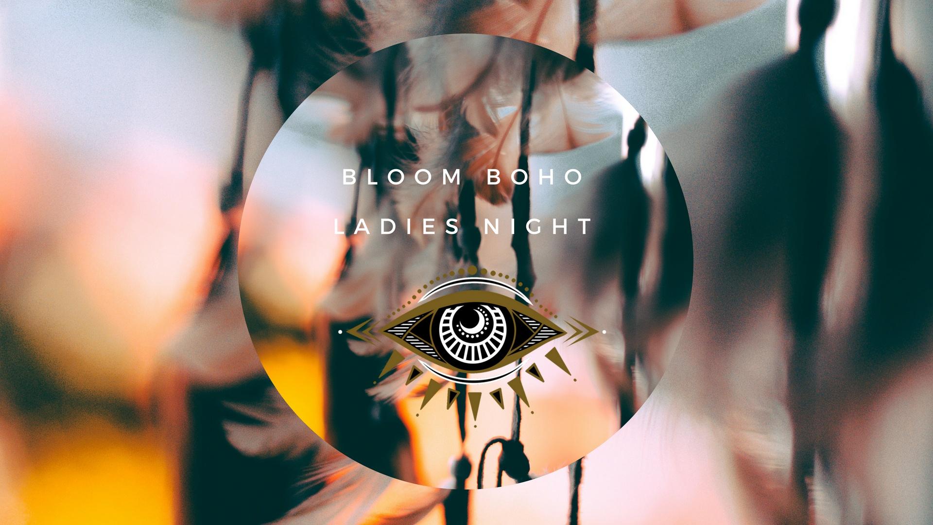 boho ladies night bloom pop up fundraiser