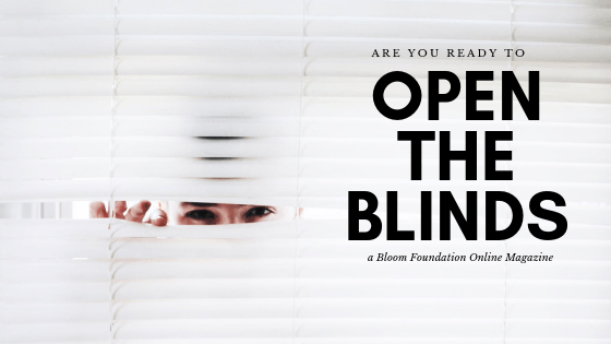 open the blinds magazine
