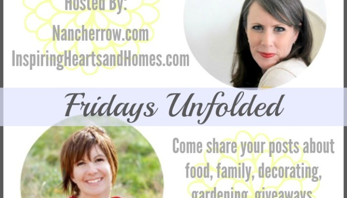 Fridays Unfolded Link Party #129