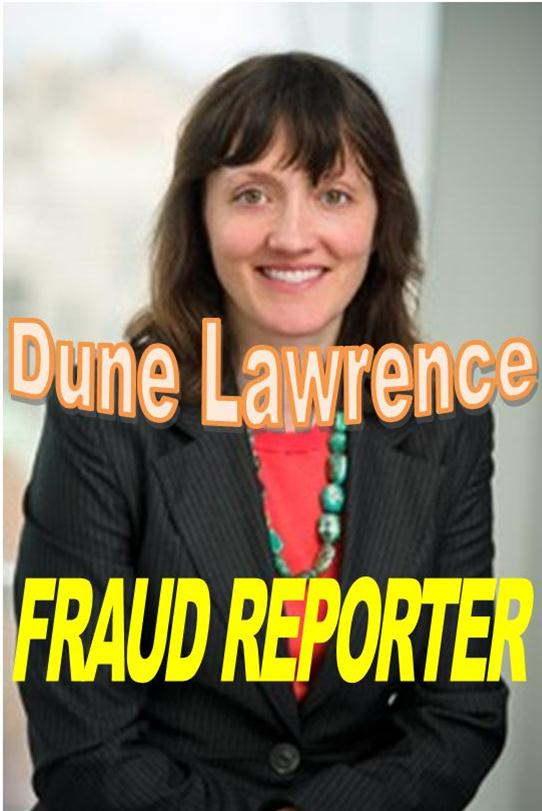 BLOOMBERG NEWS REPORTER DUNE LAWRENCE