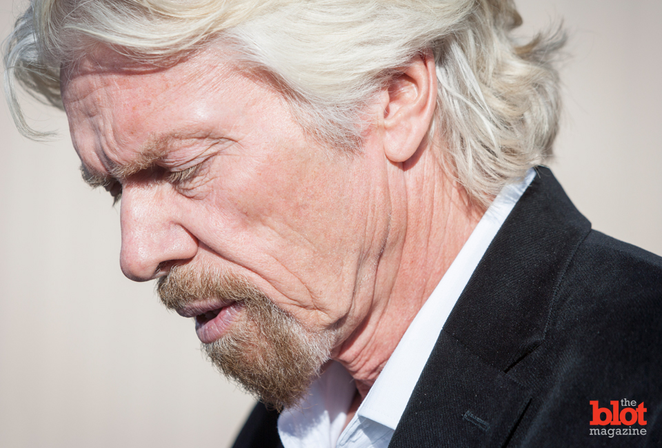 Richard Branson speaks to the media after the SpaceShipTwo crash last week. Journalist Benjamin Wey shares fives reasons why Branson's response to the tragedy has maximized Virgin Galactic's chances for survival. (© John Chapple/Splash News/Corbis)