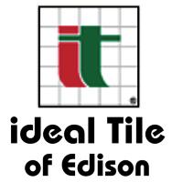 ideal tile co of edison inc edison