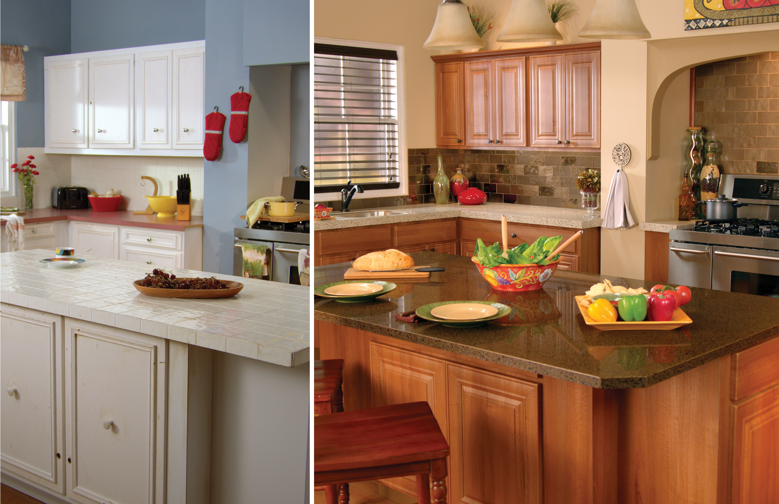 granite transformations south jersey - kitchen remodeling images
