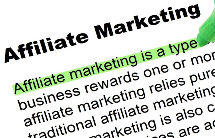 Affiliate Marketing - Highlighted Words and Phrases