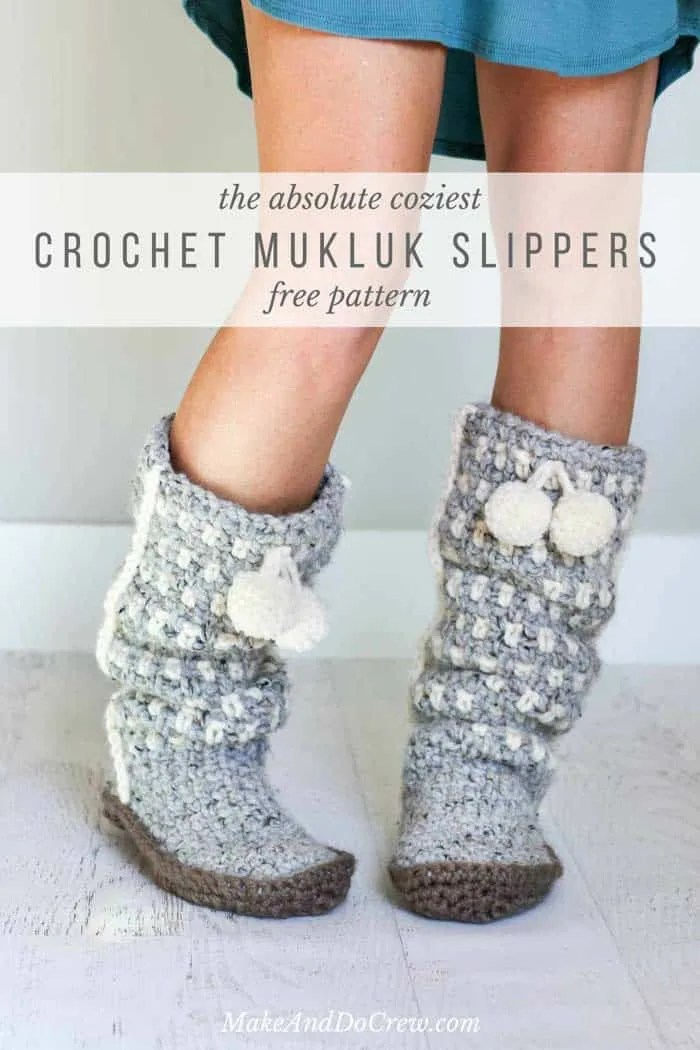 Top 10 Free Crochet Slippers Patterns