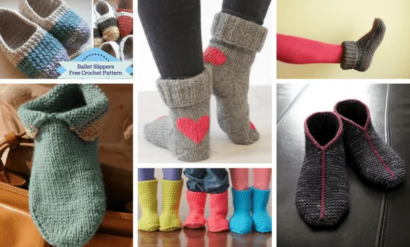 Top 10 Free Patterns for Adult Slippers