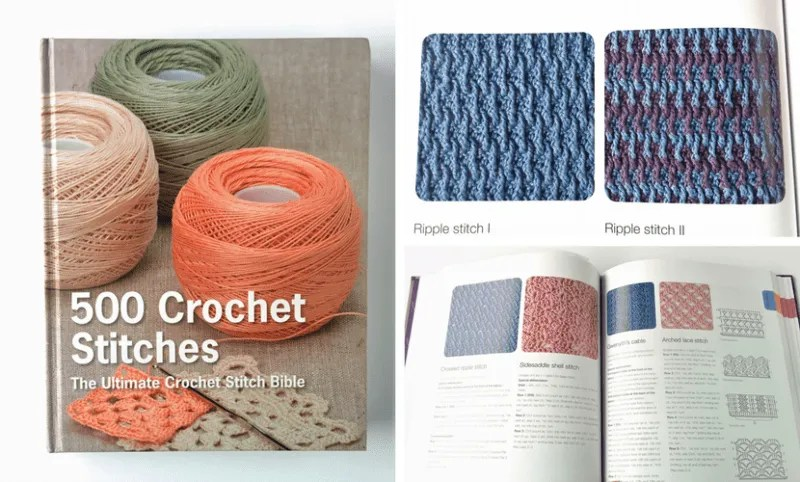 500 Crochet Stitches: The Ultimate Crochet Stitch Bible (Book Review)