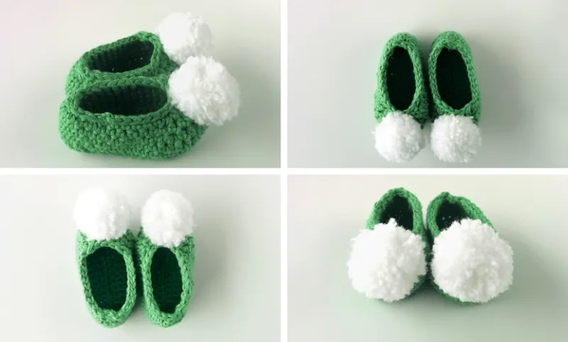 Free Pattern Baby Tinkerbell Slippers