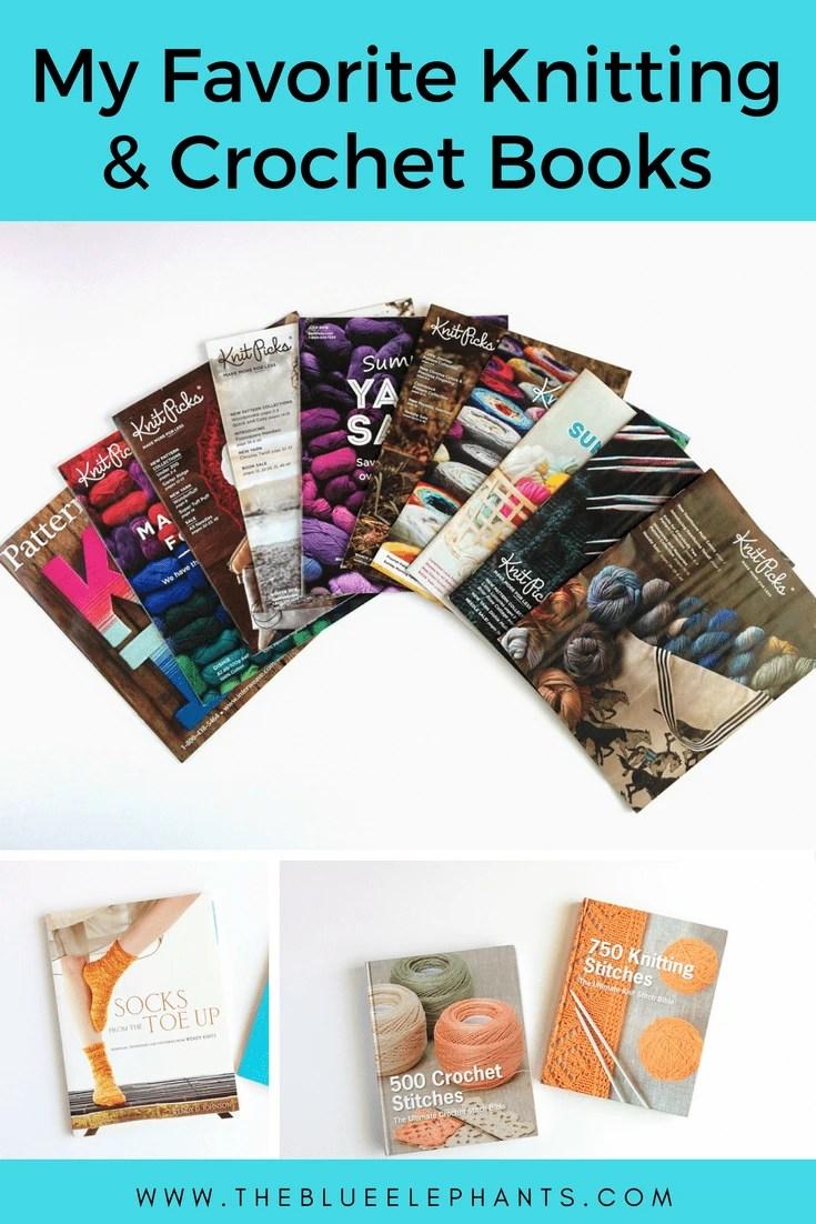 Knitting Books 2017 : My favorite knitting and crochet books