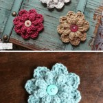 20 Free Patterns For Crochet Flowers What To Do With Them