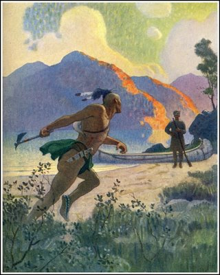 James Fenimore Cooper, illustrated by NC Wyeth