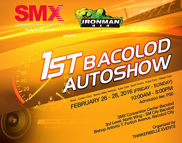 1st Bacolod Autoshow At SM City Bacolod