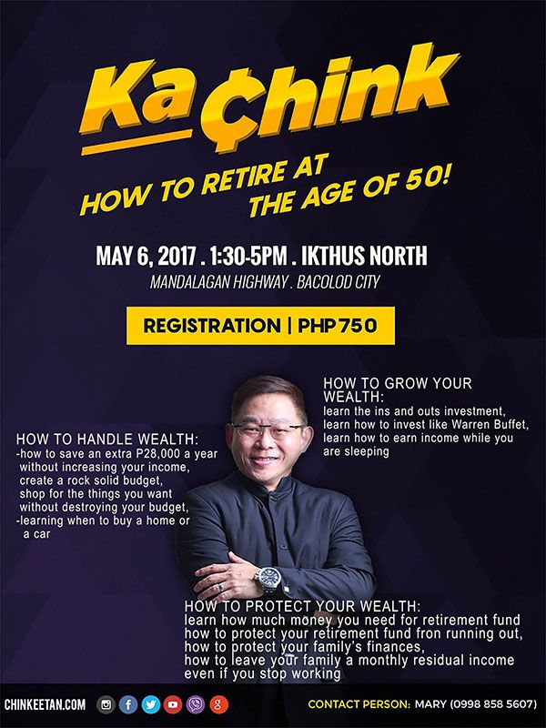 Chinkee Tan In Bacolod For KaChink Event. Win Tickets & Books By Joining The Giveaway!