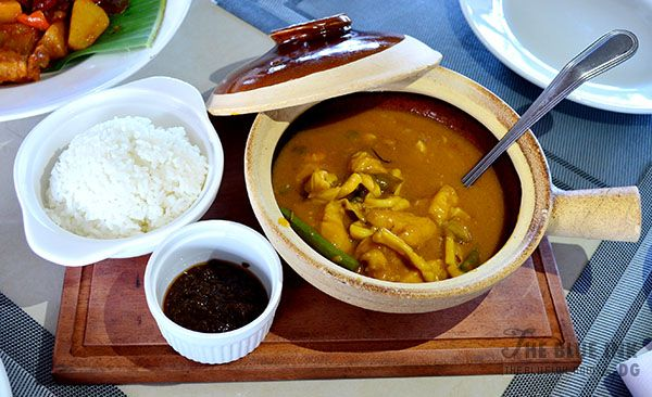 Seafood Kare-Kare - Delicious Native Dishes at L'Fisher Chalet Restaurant