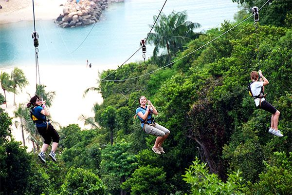 MegaZip Adventure Park, Singapore: A Holiday Like No Other