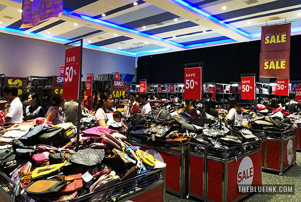 SMX Shoes And Bags Sale At SM City Bacolod