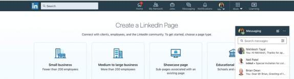 LinkedIn Company Creation