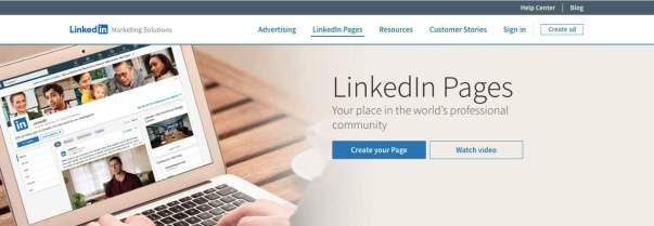 LinkedIn Company Page Creation
