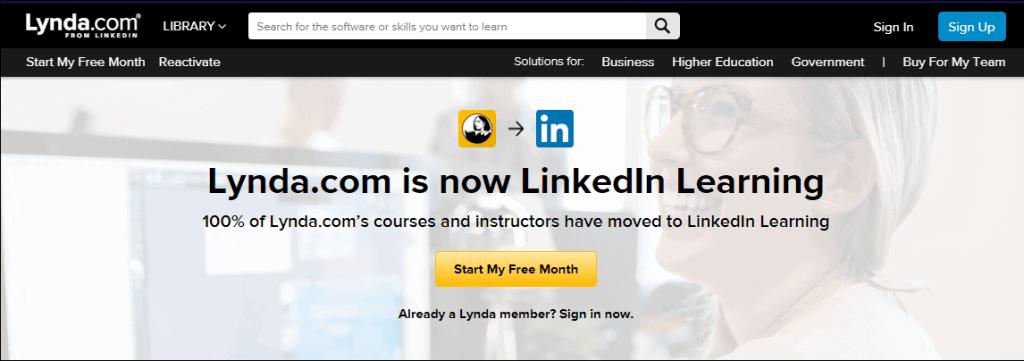 Lynda Linkedin Learning