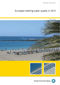 EEA Report Bathing water 2015