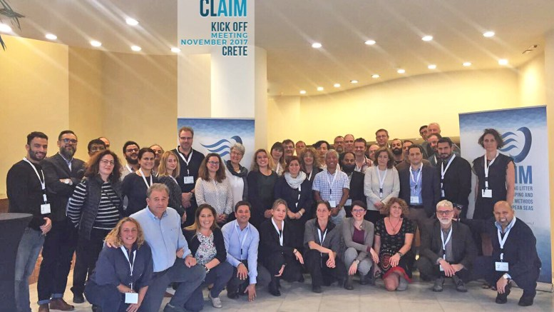 CLAIM project consortium celebrates launch - marine litter