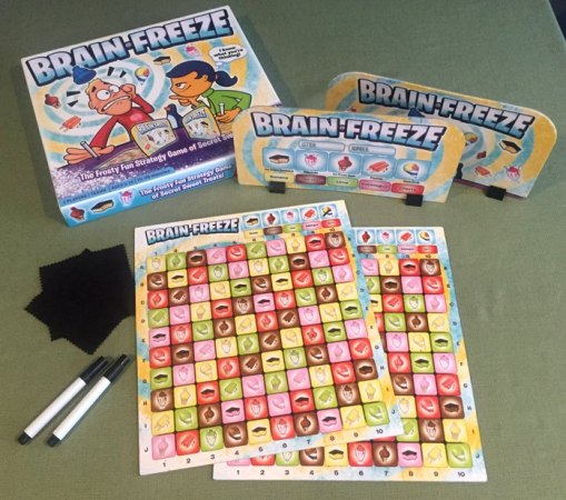 Ready for some Brain Freeze    The Board Game Family Brain Freeze board game