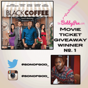 BlackCoffee movie Winner_1 for thebobbypen.com