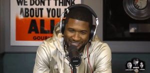 Usher on HOT 97's Ebro In The Morning for TheBobbyPen.com