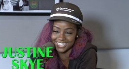 "Justine Skye talks Almost Losing ""Collide,"" BET College Tour & Green as Her Favorite Color"