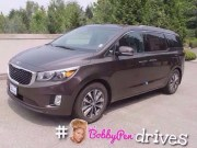 Driving the 2016 Kia Sedona EX