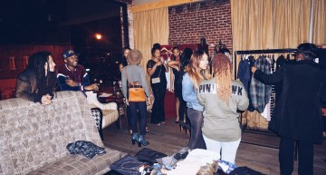 Guests shopping their hearts out at Privately Samples first DC Pop-Up Shop