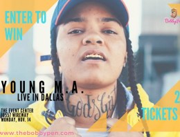 DALLAS | Win 2 Tickets to See Young M.A. Live Monday Nov. 14 [GIVEAWAY]