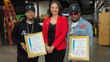 Jermaine Dupri & Bow Wow Receive The Spirit Of Detroit Award [VIDEO]