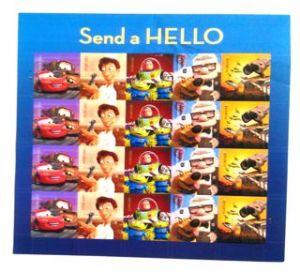 Pixar Stamps