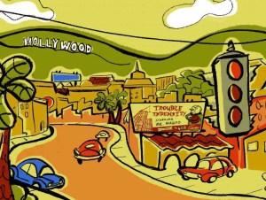 hollywood boulevard artwork