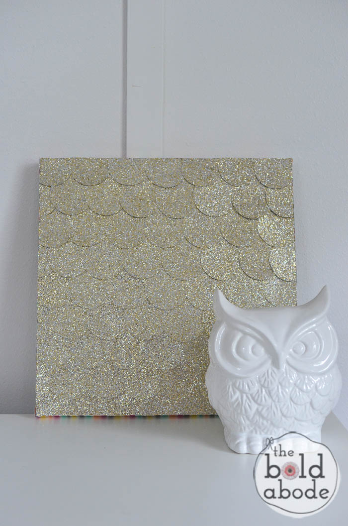 Glitter Dot Wall Art