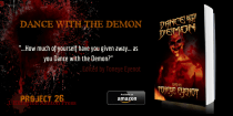 """DANCE WITH THE DEMON"" Horror Anthology. Project 26 via J. Ellington Ashton Press"