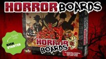 HORROR BOARDS by Horror-Fix.  Horror themed tabletop gaming system!
