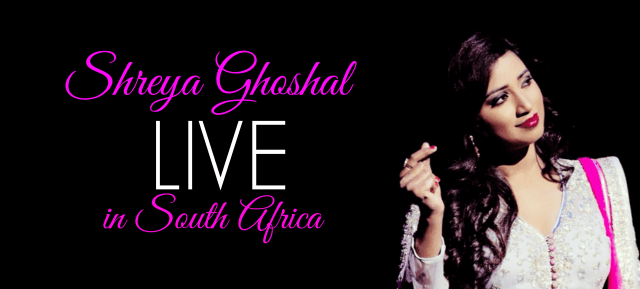 Shreya Ghoshal LIVE in South Africa 2015