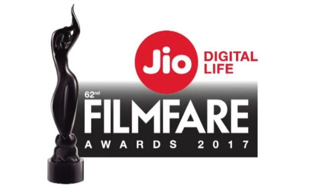 62nd Filmfare Awards 2017 Red Carpet | List of Winners