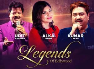 Legends of Bollywood – The Udit, Alka & Kumar Playlist